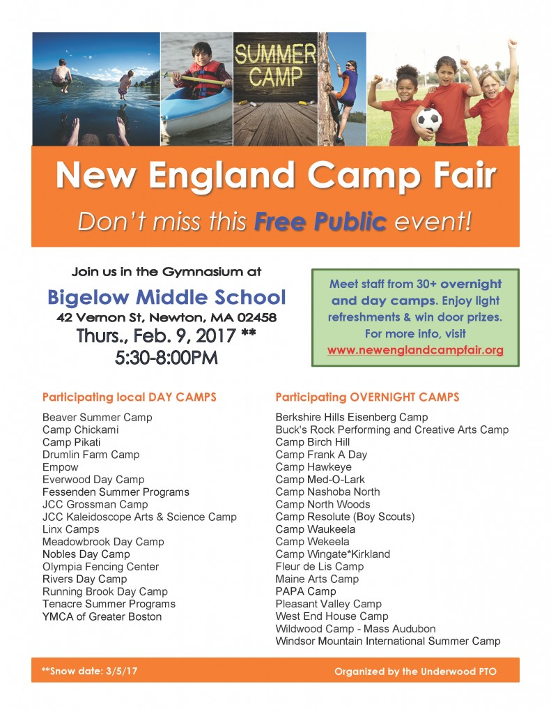 Camp Fair FlyerPDF 2017